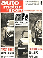 Automobilreport: DKW F 12 (1965)